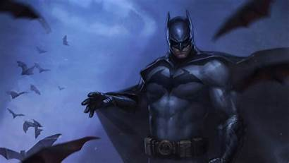 Batman Portrait Minimalism Superhero Comics Dc Display