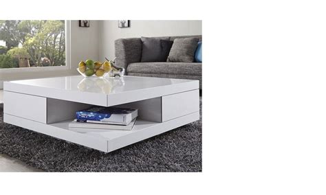 awesome table de salon blanc laque ideas awesome interior home satellite delight us
