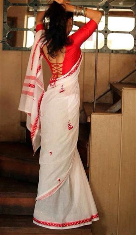 hot blouse style 20 best ideas about white saree on pinterest blouse