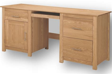 Desk Filing Cabinet Uk by Home Office Ash Computer Desk With Filing Cabinet