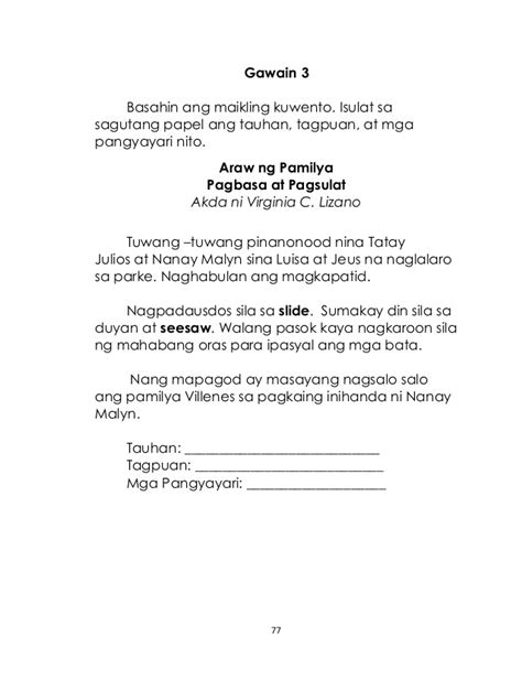 83 free download filipino subject worksheets for grade 1