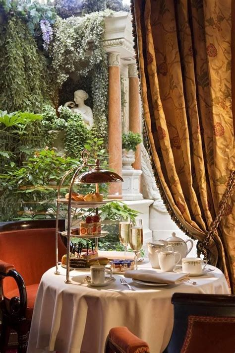 afternoon tea   ritz carlton paris hotel
