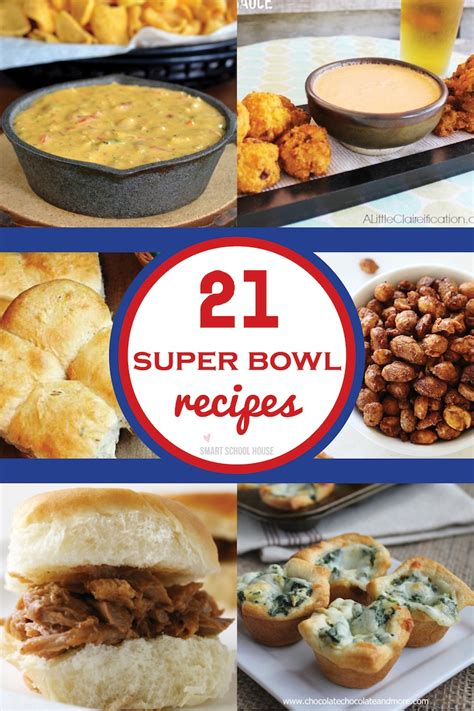 bowl snack recipes super bowl recipes