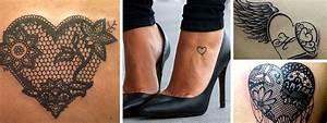 Tatouage De Femme : tatouage coeur femme top 100 des beaux tattoos coeurs ~ Melissatoandfro.com Idées de Décoration