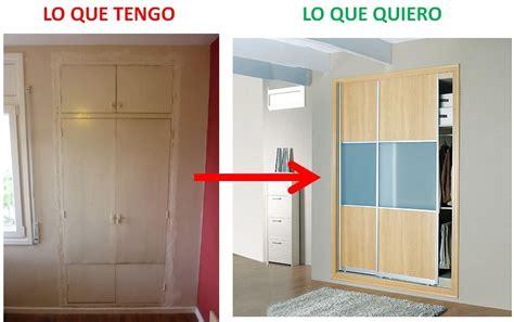 como hacer  armario empotrado