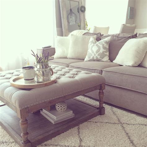 Living Room With Ottoman by Overstock Tufted Ottoman Living Room Diy Crafts