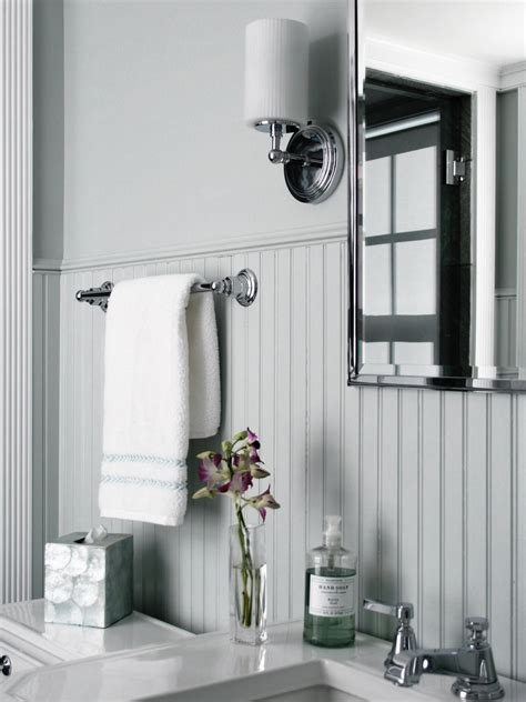 beadboard bathroom designs pictures ideas  hgtv hgtv