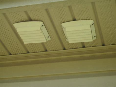 block off the soffit vents in the vicinity of my bathroom