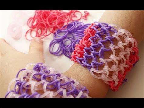 bracelet elastique tuto tuto bracelet 233 lastique ecailles de manchette rainbow loom en fran 231 ais