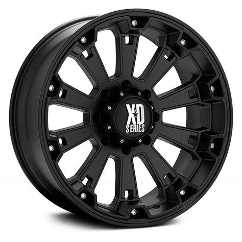black wheels xd series misfit wheels matte black rims