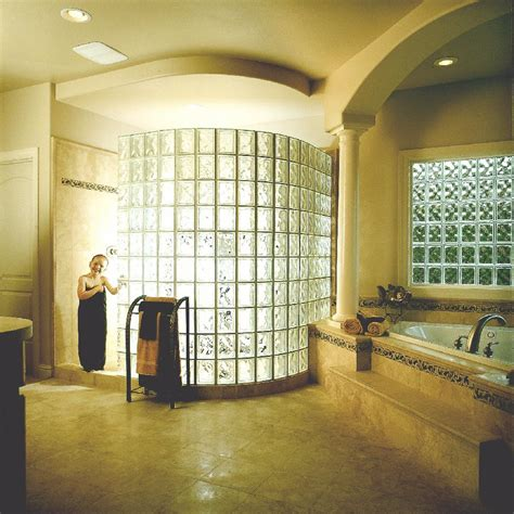 glass block showers pictures