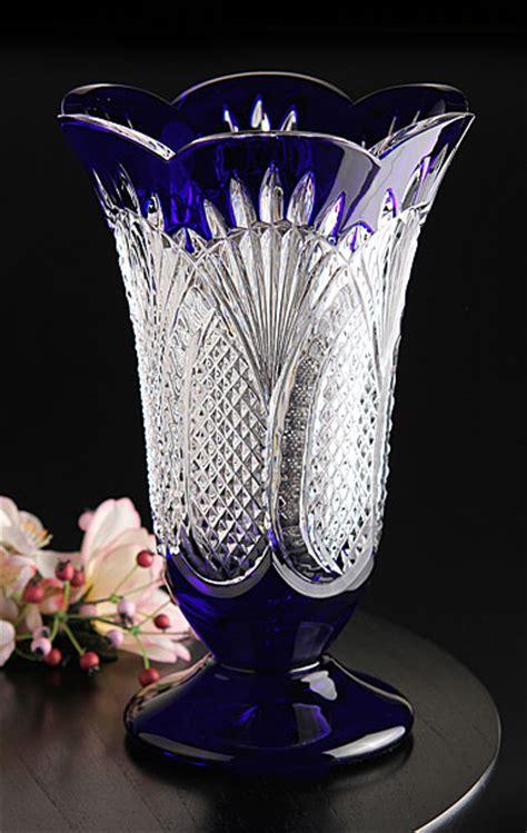 Waterford Seahorse Vase by Waterford Seahorse Cobalt 10 Quot Vase
