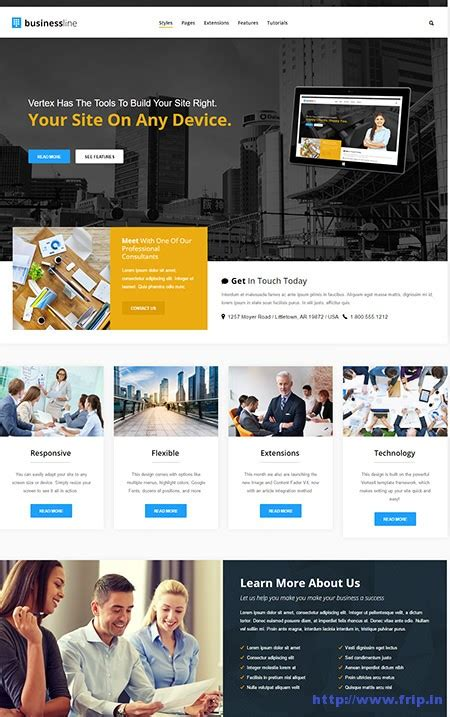 businees 2 joomla template 50 best corporate business joomla templates 2016 frip in