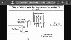 Volkswagen Fuel Pump Diagram