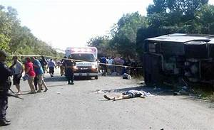 12 killed as bus carrying foreign tourists crashes in ...