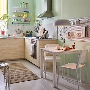 Salle a manger ikea for Kitchen colors with white cabinets with boites en papier