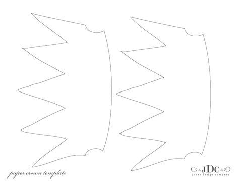 paper crown template paper crowns tutorial jones design company