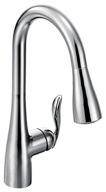 Moen Arbor 1 Handle High Arc Pulldown Kitchen Faucet