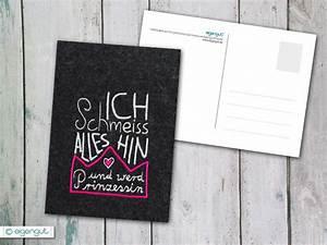 Hin Und Mit : postkarten postkarte mit spruch ich schmeiss alles hin ~ Eleganceandgraceweddings.com Haus und Dekorationen