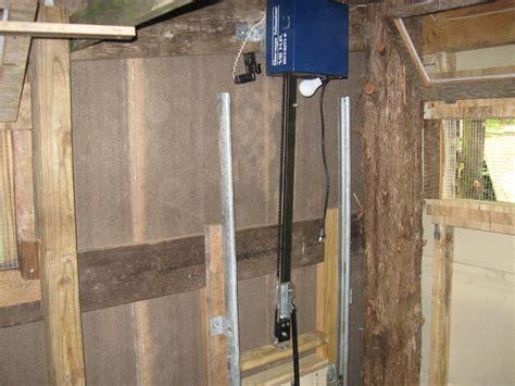 automatic chicken coop door automatic coop door opener