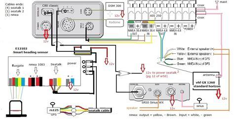 Standard Horizon Wiring Diagram by Manuel Raymarine Rs130 Gps