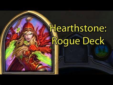 hearthstone ranked rogue valeera deck with wowcrendor