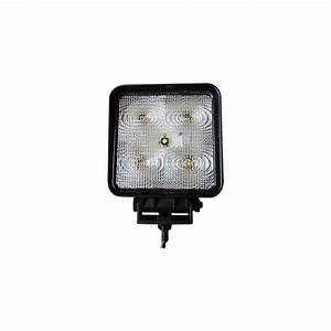 W led work flood light for auto truck tractor
