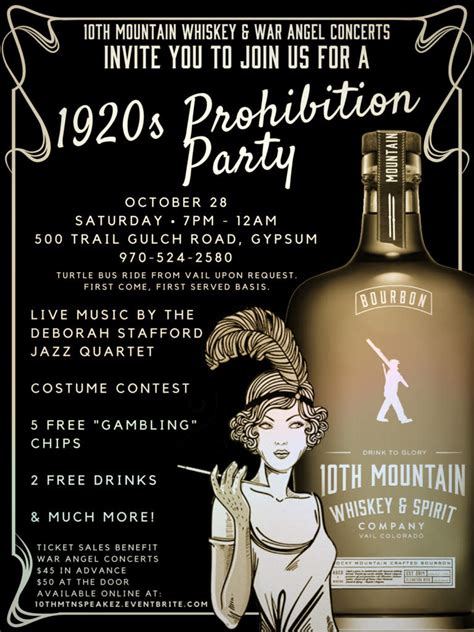 prohibition party vvp calendar