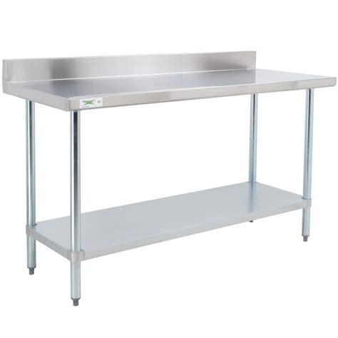 30 x 48 stainless steel table regency 30 quot x 48 quot 18 gauge 304 stainless steel commercial