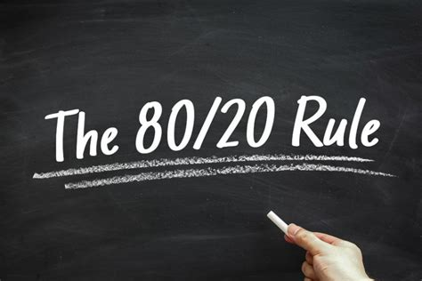 5 Ways Pareto's 80/20 Rule Applies To Your Marketing Efforts