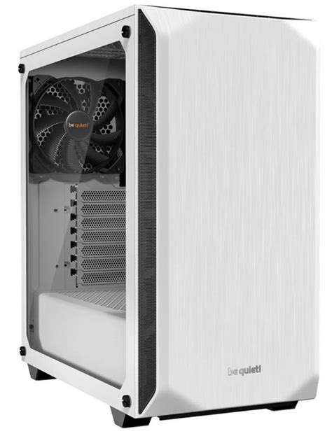 be quiet! Pure Base 500 White Tempered Glass Mid Tower PC