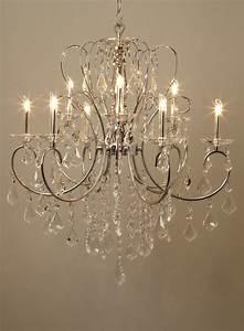 Silver kinnari light chandelier ceiling lights