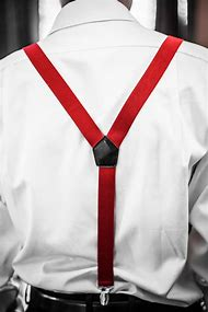 You Wear Suspenders with Belt
