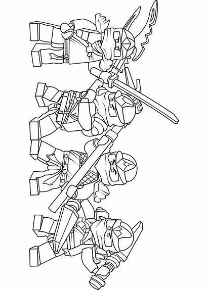 Ninjago Lego Team Zx Pages Coloring Nya