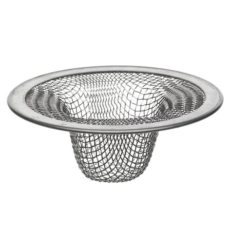 mesh sink strainer home depot danco 2 1 2 in lavatory mesh sink strainer 88820 the