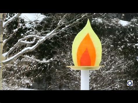 comment fabriquer une le torche faire une torche olympique