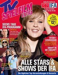 Tv Spielfilm Mediadaten : tv spielfilm bringt ifa special ~ Lizthompson.info Haus und Dekorationen