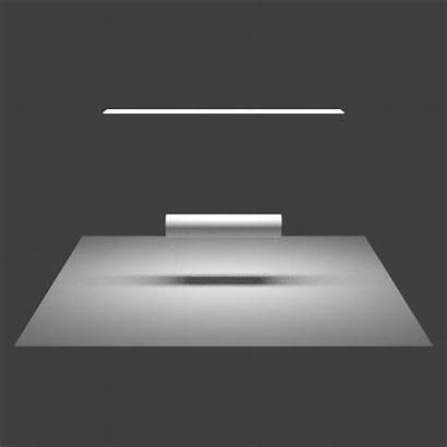 Fluorescent Lights Shadows Produce Animation Why Rotating