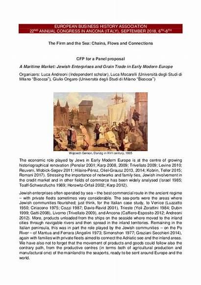 Modern Market Trade Early Jewish Enterprises Maritime