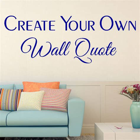 Custom Wall Stickers By Wall Art Quotes & Designs By Gemma