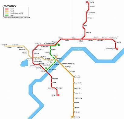Hangzhou Map Line 2050 Last