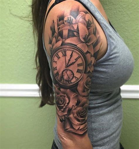 amazing sleeve tattoos  women  tatted