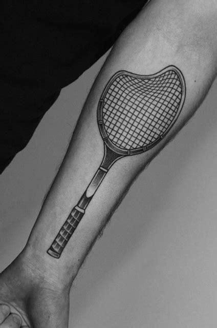 18 Cool Tennis Tattoo Ideas - Styleoholic