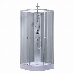 Cabine De Douche Angle : cabine de douche 1 4 de cercle 85x85 cm dado leroy merlin ~ Dailycaller-alerts.com Idées de Décoration