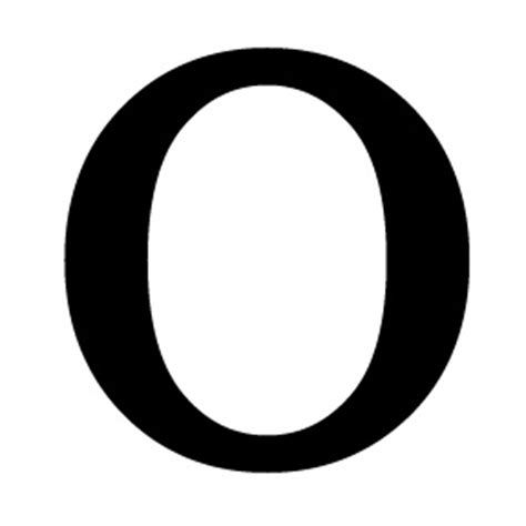 the letter o 2 wrought iron letter o