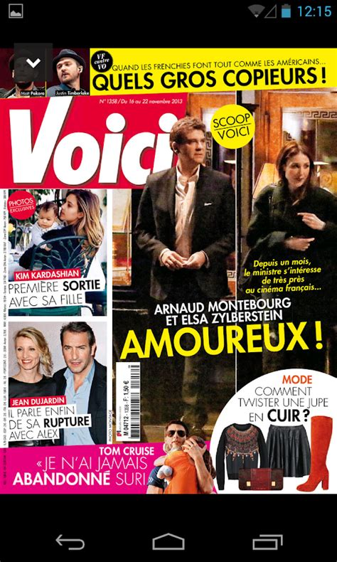 Voici Le Magazine  Applications Android Sur Google Play