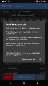 College Football Coach  Career Edition V1 2 30 Released To