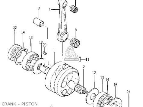yamaha yg1tk trailmaster 80 1964 usa parts list partsmanual partsfiche