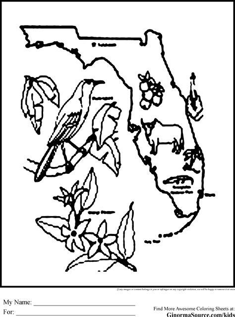 Fl Everglades Coloring Sheets Gulfmik 9e7047630c44