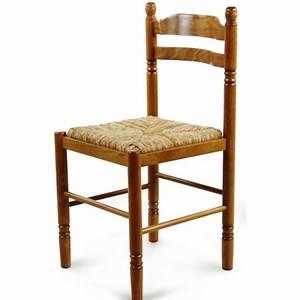 Chaise de salle a manger en bois paille jeanne 424 for Meuble salle À manger avec chaise couleur pied bois